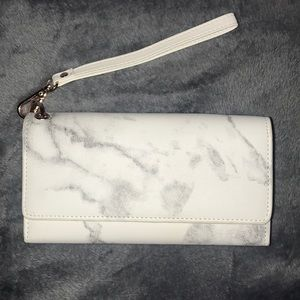 Marble Trifold Wallet